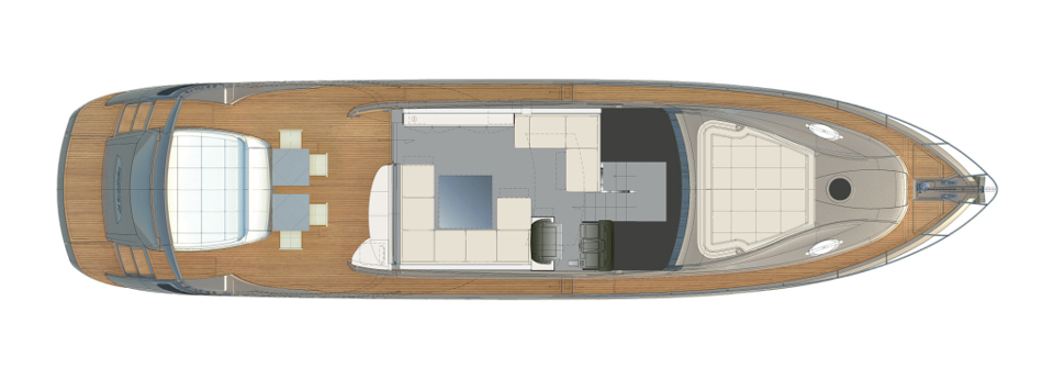 Pershing 70 Layout (img-2)