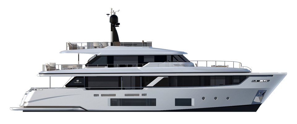 Custom Line Navetta 30 Project Exterior (img-0)