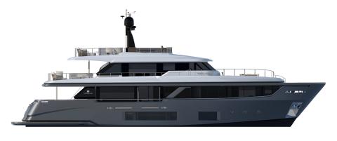 Custom Line Navetta 30 Project Exterior (img-1)