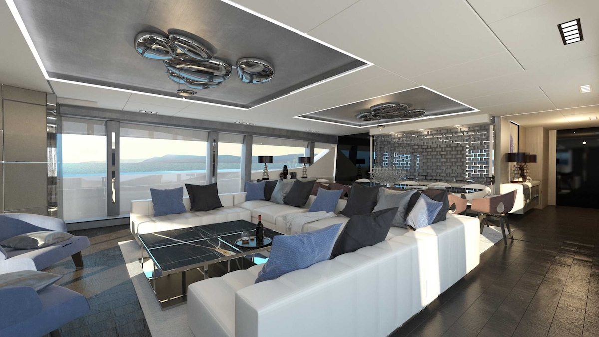 Pershing 140 Project Interior (img-0)
