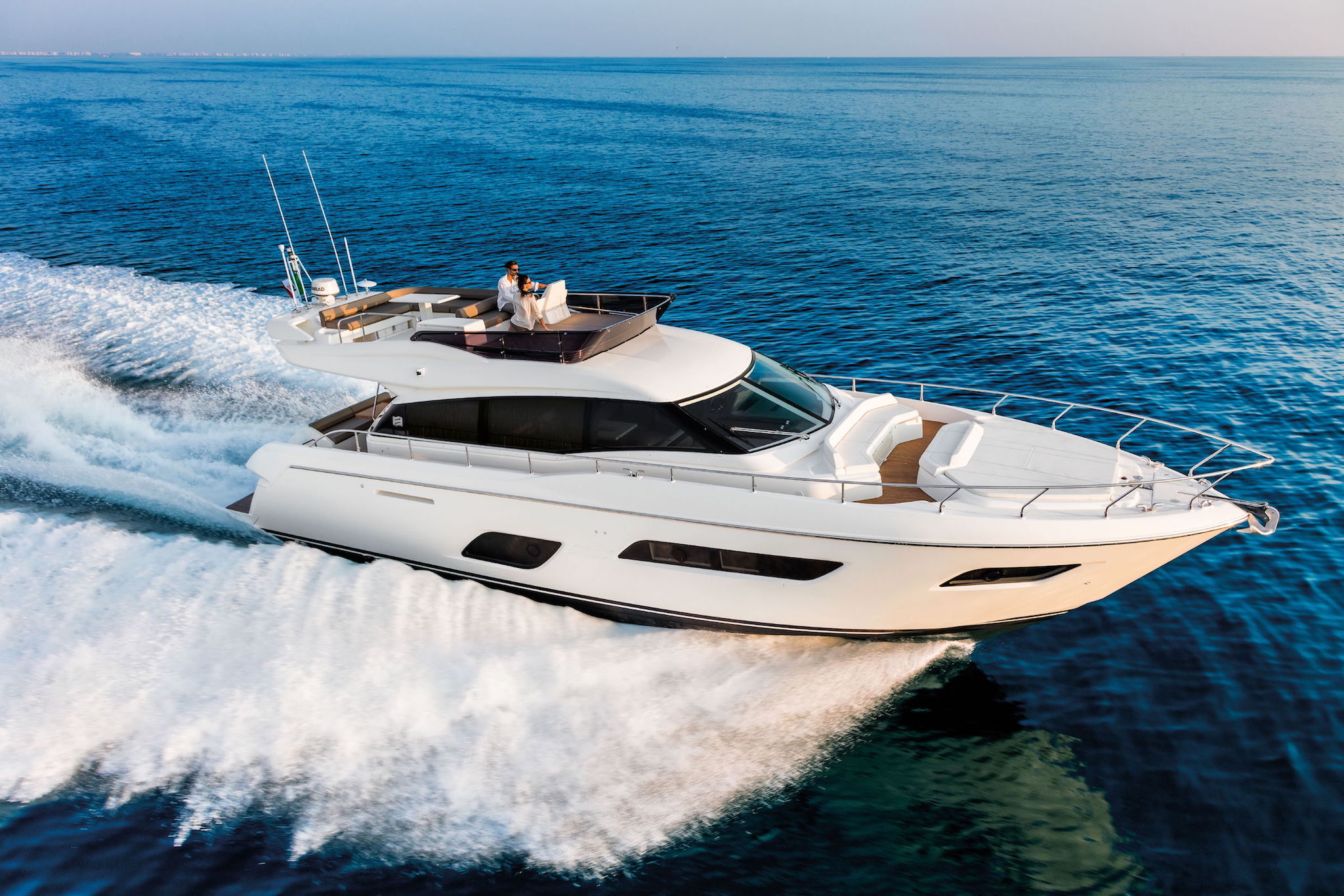 Ferretti 550 Virtual Tour