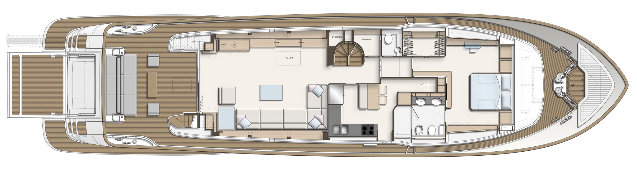 Custom Line Navetta 28 Layout (img-3)