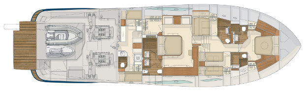 Mochi Craft Dolphin 74' Cruiser Layout (img-3)