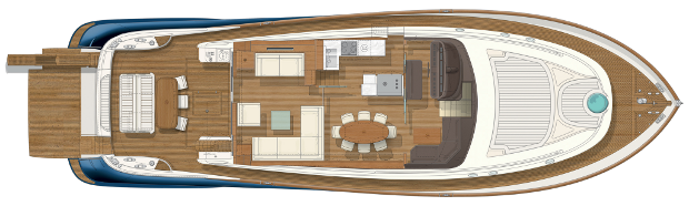 Mochi Craft Dolphin 74' Cruiser Layout (img-4)