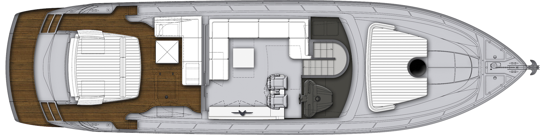 Pershing 62 Layout (img-2)