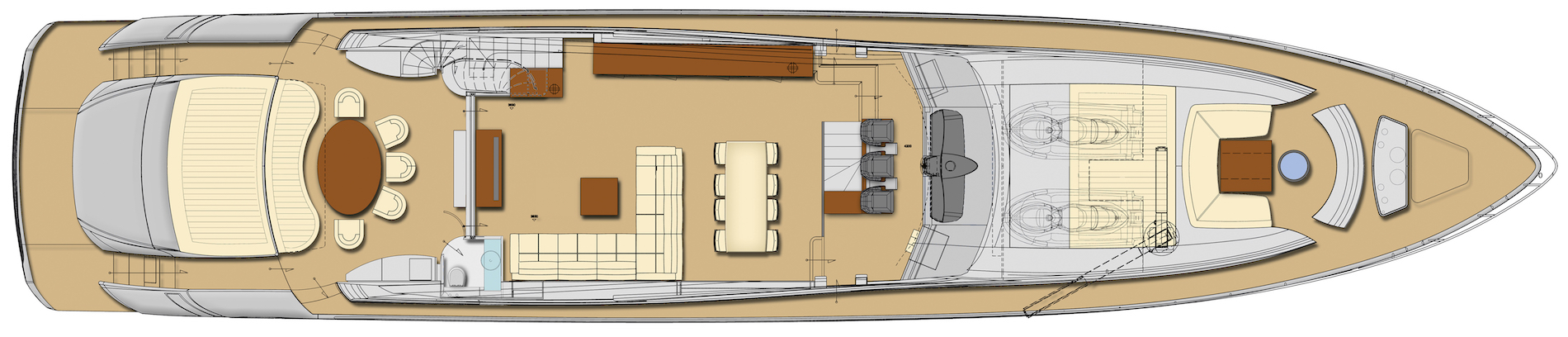 Pershing 108 Layout (img-2)
