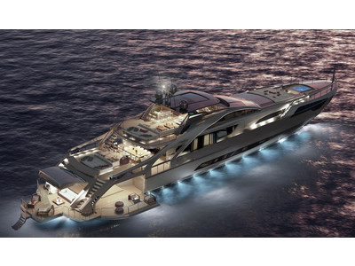 Pershing 140 Project Exterior (img-2)