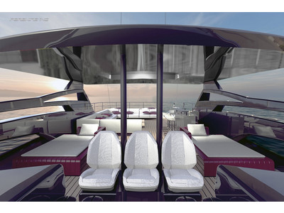 Pershing 140 Project Interior (img-1)