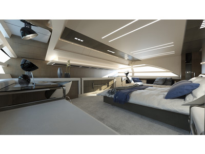 Pershing 140 Project Interior (img-7)