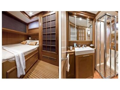 Mochi Craft Dolphin 74' Cruiser Interior (img-9)