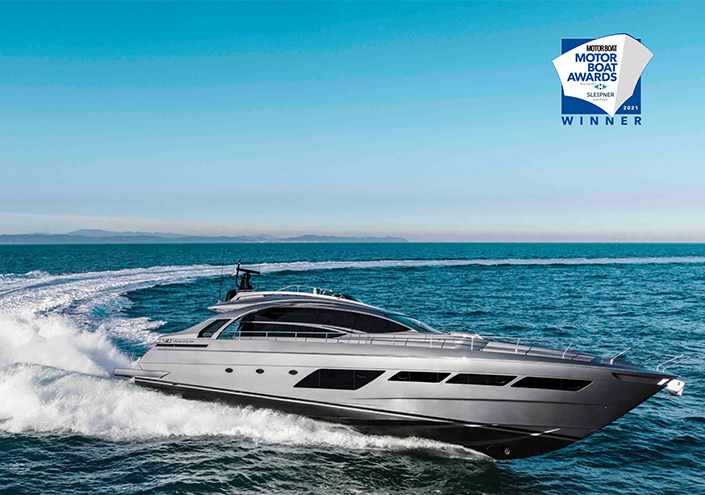 Pershing is a winner at the Motor Boat Awards 2021. image