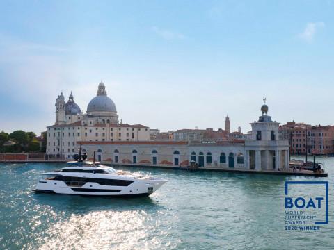 Custom Line triumphs at the World Superyacht Awards 2020