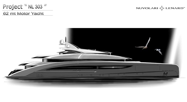 CRN announces a new contract for a 62 Metre M/Y designed by Nuvolari Lenard. image