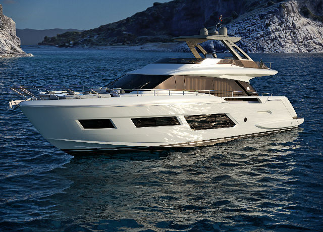 Ferretti Yachts 670: room for beauty image