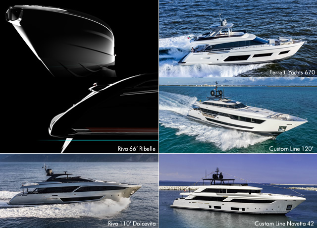 Ferretti Group prepares to shine with 5 new stars at the Cannes Yachting Festival 2018 image