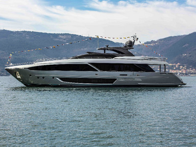 Launch of the Riva 110' Dolcevita - a contemporary legend